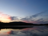 233-sunset-at-pleasant-pond-shelter