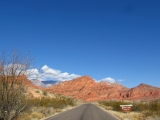 Entering the Red Cliffs National Recreation Area, UT.
