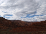 View from the Anasazi Trail. Red Cliffs National Recreation Area,UT.