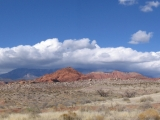 This is another panorama looking north toward the Pine Valley Mountains. I think it was taken from the White Reef Trail.