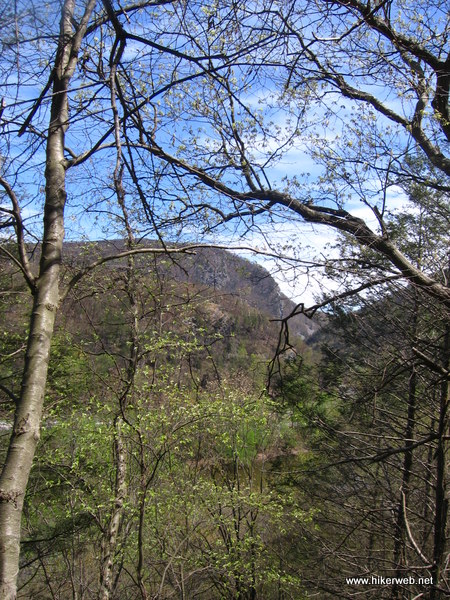 View of Delaware Water Gap from AT